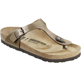 Birkenstock Gizeh Thong Sandals Birko-Flor Narrow Women, graceful taupe